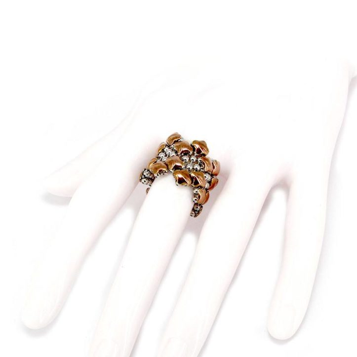SG Liquid Metal Ring by Sergio gutierrez R1-SS-ROSE_01