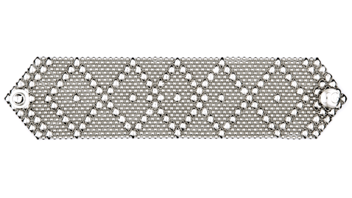 SG Liquid Metal bracelet-b10 by Sergio Gutierrez