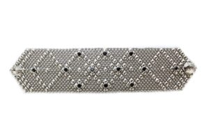 SG Liquid Metal bracelet-b10-z-blk-n-1 by Sergio Gutierrez