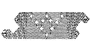 SG Liquid Metal bracelet-b103 by Sergio Gutierrez