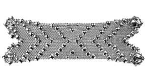 SG Liquid Metal bracelet-b105 by Sergio Gutierrez