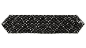 SG Liquid Metal bracelet-b10blk by Sergio Gutierrez