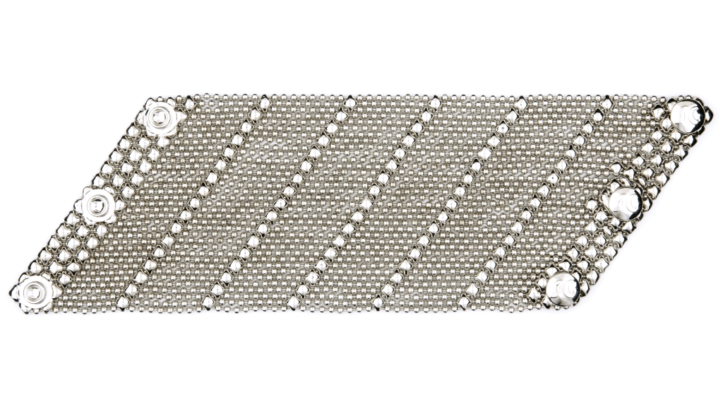 SG Liquid Metal bracelet-b27 by Sergio Gutierrez