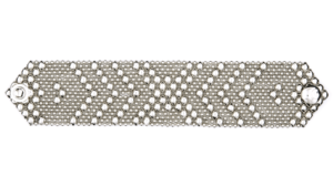 SG Liquid Metal bracelet-b44 by Sergio Gutierrez