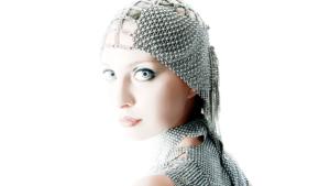 SG Liquid Metal Headpiece by Sergio Gutierrez