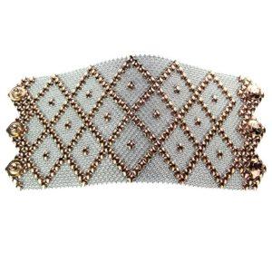 SG liquid Metal Bracelet by Sergio Gutierrez B11-SS-ROSE_01
