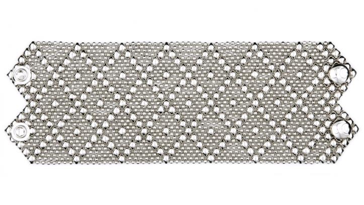 SG Liquid Metal bracelet-b26 by Sergio Gutierrez