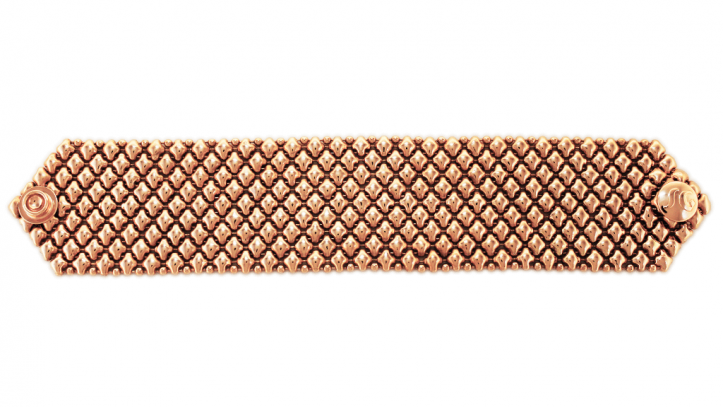 SG Liquid Metal bracelet-b8-rg by Sergio Gutierrez