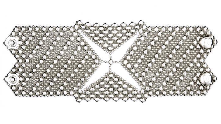 SG Liquid Metal bracelet-b80 by Sergio Gutierrez