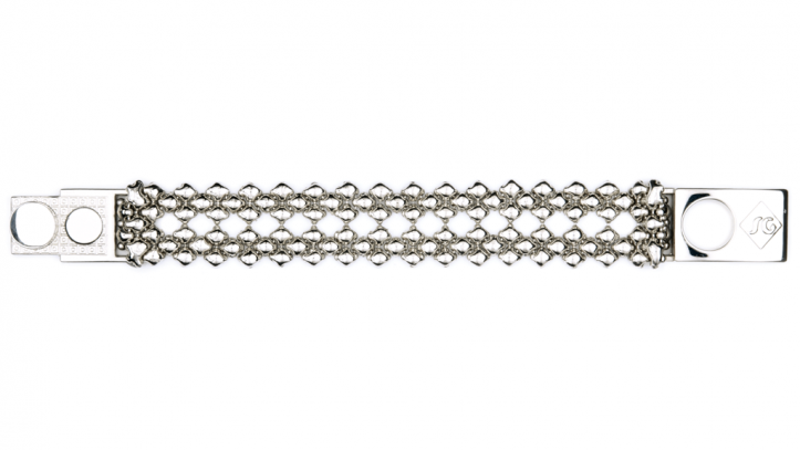 SG Liquid Metal bracelet-b81 by Sergio Gutierrez