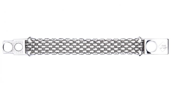 SG Liquid Metal bracelet-b85 by Sergio Gutierrez