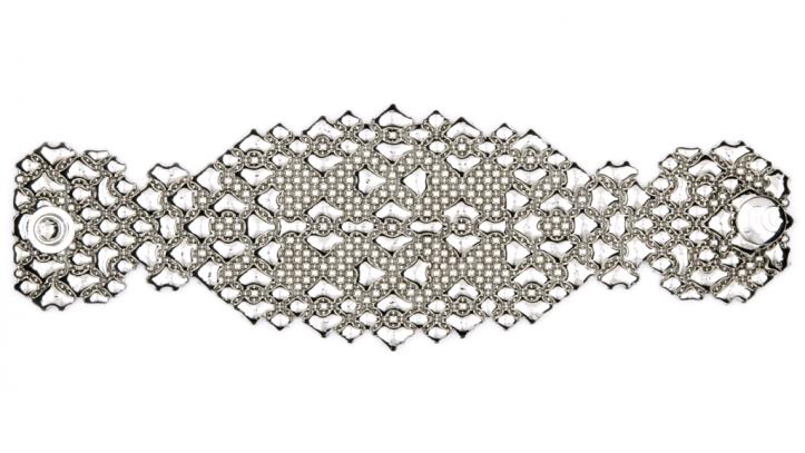 SG Liquid Metal bracelet-b87 by Sergio Gutierrez