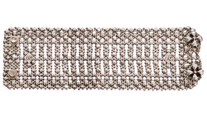 SG Liquid Metal bracelet-b98 by Sergio Gutierrez