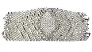 SG Liquid Metal bracelet-cmb7 by Sergio Gutierrez