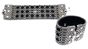 SG Liquid Metal bracelet-ltbt1 by Sergio Gutierrez