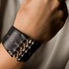 SG Liquid Metal bracelet-maa4-b by Sergio Gutierrez
