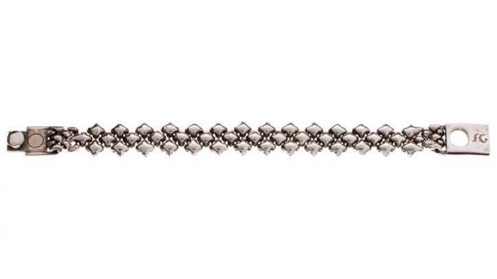 SG Liquid Metal bracelet-mb94-a by Sergio Gutierrez
