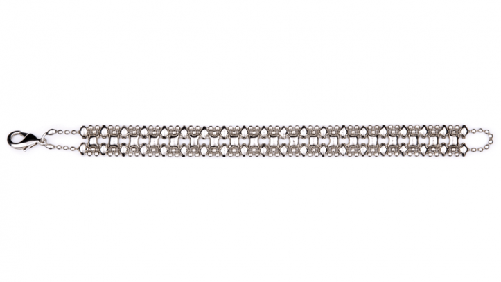 SG Liquid Metal bracelet-mini-a by Sergio Gutierrez