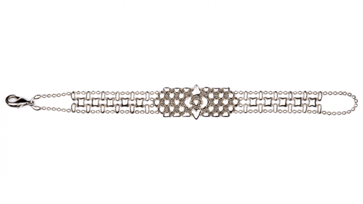 SG Liquid Metal bracelet-mini-c by Sergio Gutierrez