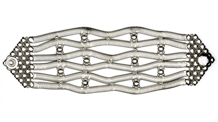 SG Liquid Metal bracelet-snb4 by Sergio Gutierrez