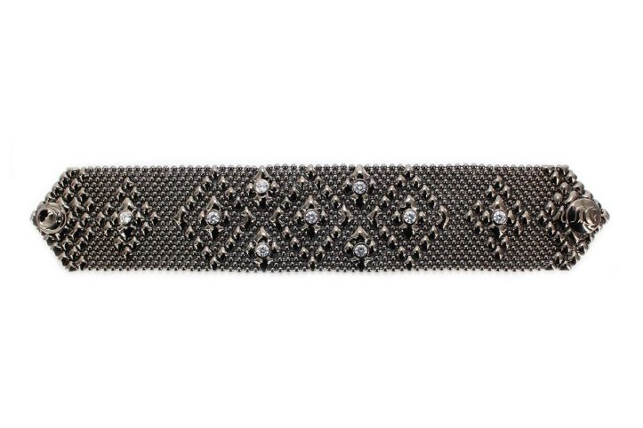 SG Liquid Metal bracelet-tb32-z-blk by Sergio Gutierrez