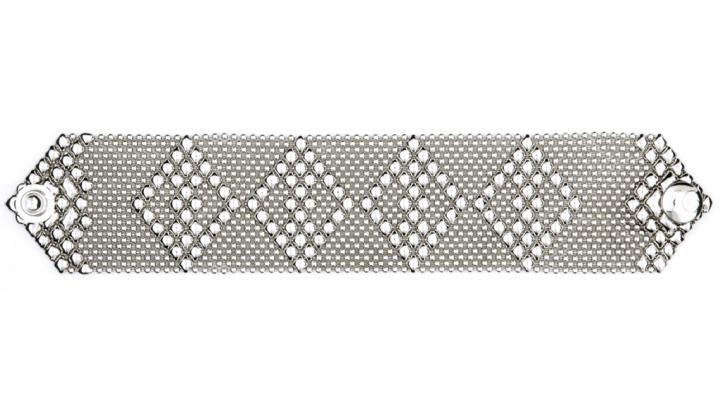 SG Liquid Metal bracelet-tb33 by Sergio Gutierrez