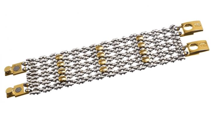SG Liquid Metal bracelet-tb43 by Sergio Gutierrez