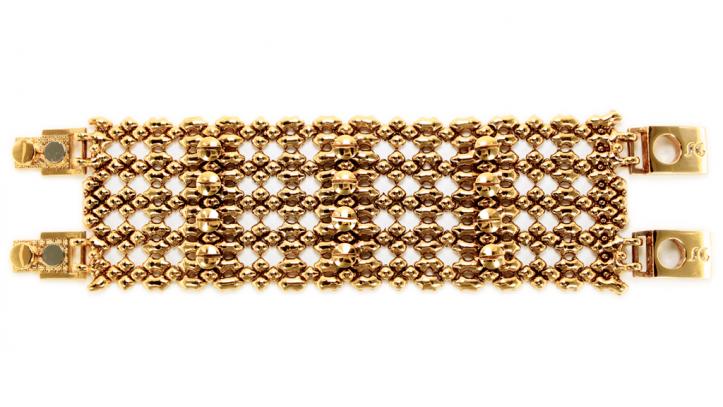 SG Liquid Metal bracelet-tb43-ag by Sergio Gutierrez