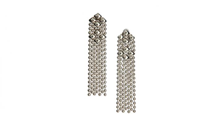 SG Liquid Metal earring-e14 by Sergio Gutierrez