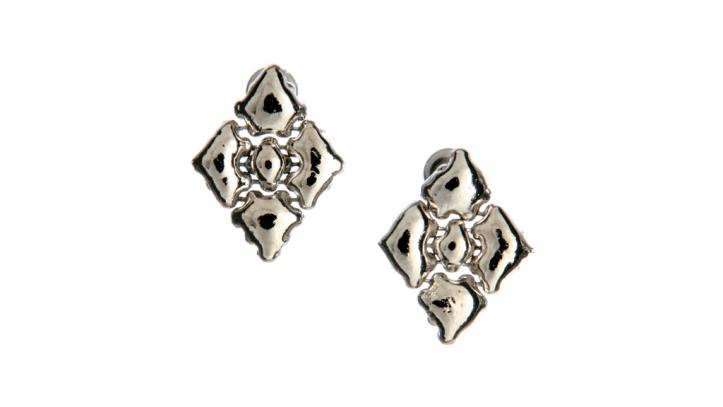 SG Liquid Metal earring-e34 by Sergio Gutierrez