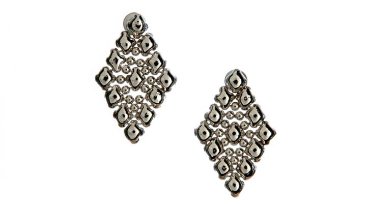 SG Liquid Metal earring-e37 by Sergio Gutierrez