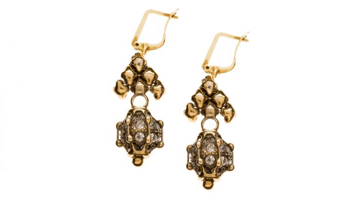 SG Liquid Metal earring-grte6 by Sergio Gutierrez