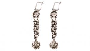 SG Liquid Metal earring-rte4 by Sergio Gutierrez