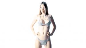 SG Liquid Metal fashion-bra2-gstring by Sergio Gutierrez