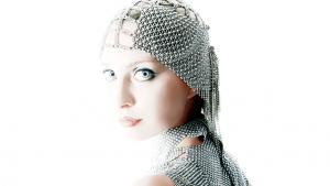 SG Liquid Metal fashion-headpiece1 by Sergio Gutierrez