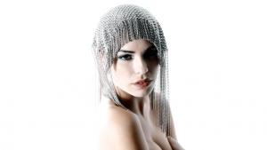SG Liquid Metal fashion-headpiece2 by Sergio Gutierrez