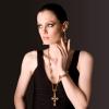 SG Liquid Metal necklace-grtcr2 by Sergio Gutierrez