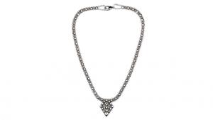 SG Liquid Metal necklace-mini-g by Sergio Gutierrez