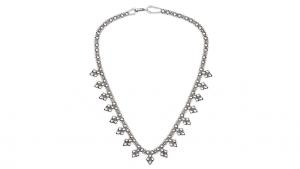 SG Liquid Metal necklace-mini-j by Sergio Gutierrez