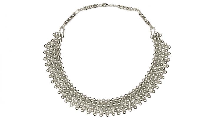 SG Liquid Metal necklace-n17 by Sergio Gutierrez