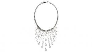 SG Liquid Metal necklace-n18 by Sergio Gutierrez