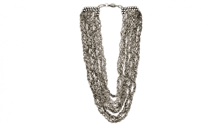 SG Liquid Metal necklace-n20 by Sergio Gutierrez