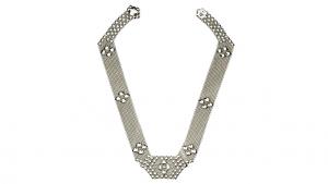 SG Liquid Metal necklace-n5 by Sergio Gutierrez