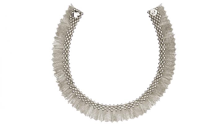 SG Liquid Metal necklace-n8 by Sergio Gutierrez