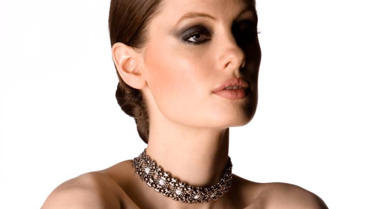 SG Liquid Metal necklace-rtc2 by Sergio Gutierrez