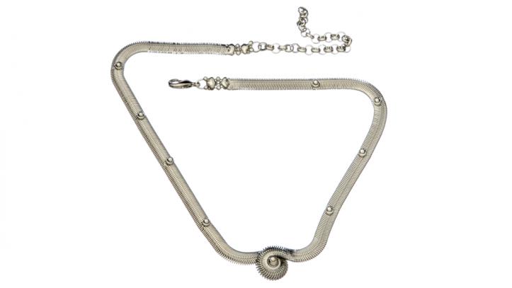 SG Liquid Metal necklace-sn-nec2 by Sergio Gutierrez