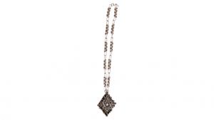 SG Liquid Metal necklace-xcr7-a by Sergio Gutierrez