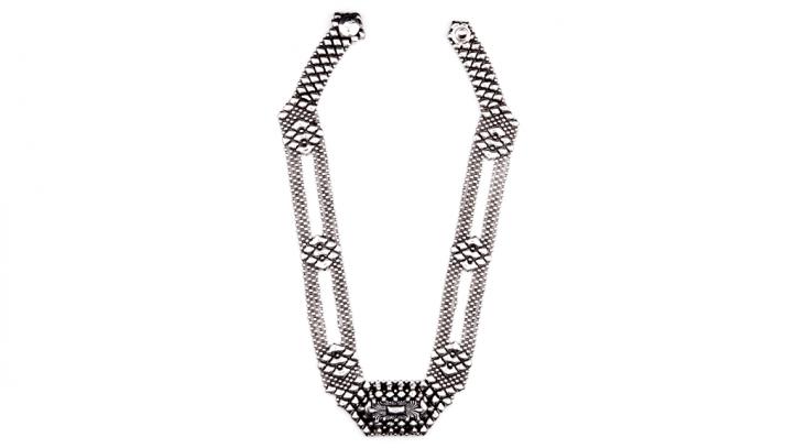 SG Liquid Metal necklace-xn2 by Sergio Gutierrez