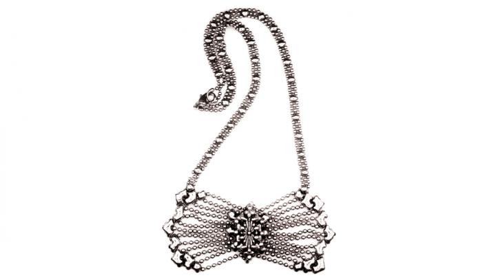 SG Liquid Metal necklace-xn4 by Sergio Gutierrez